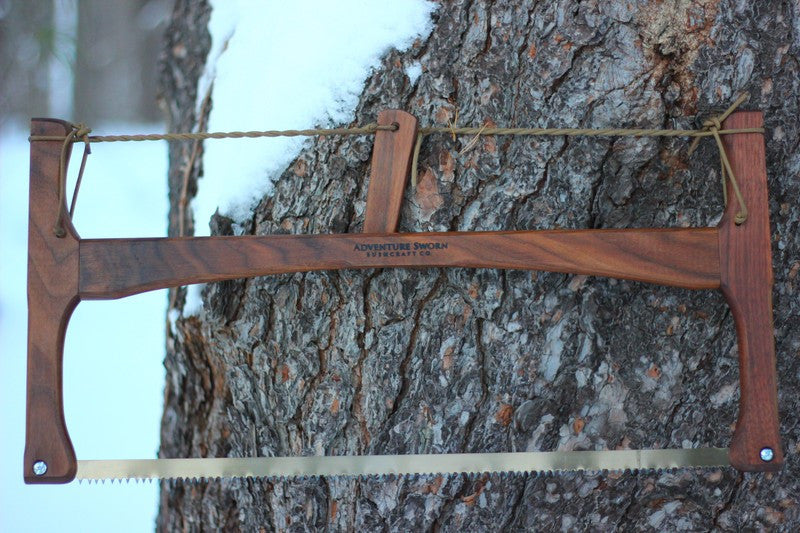 Bucksaw: Walnut - Adventure Sworn Bushcraft Co.