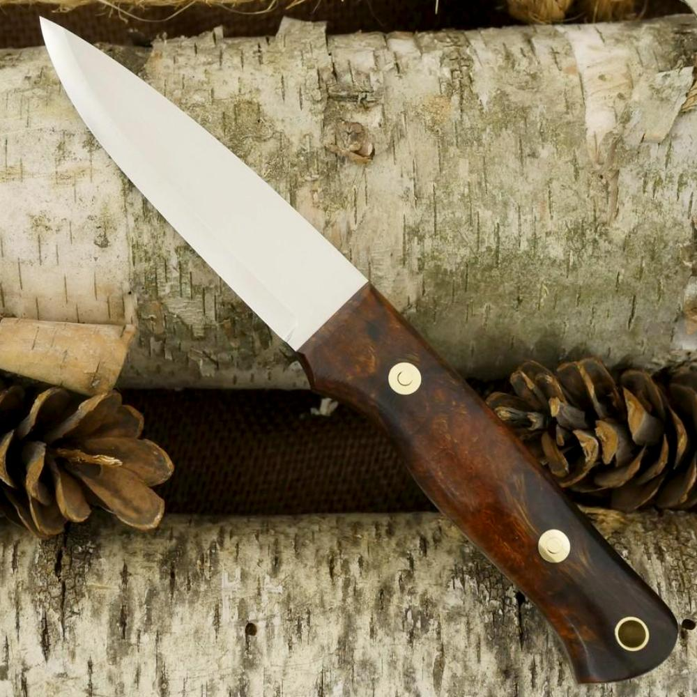Classic: Ironwood Burl & Red G10