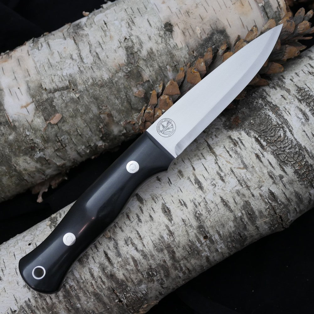 Mountaineer: Black Richlite & Purple G10
