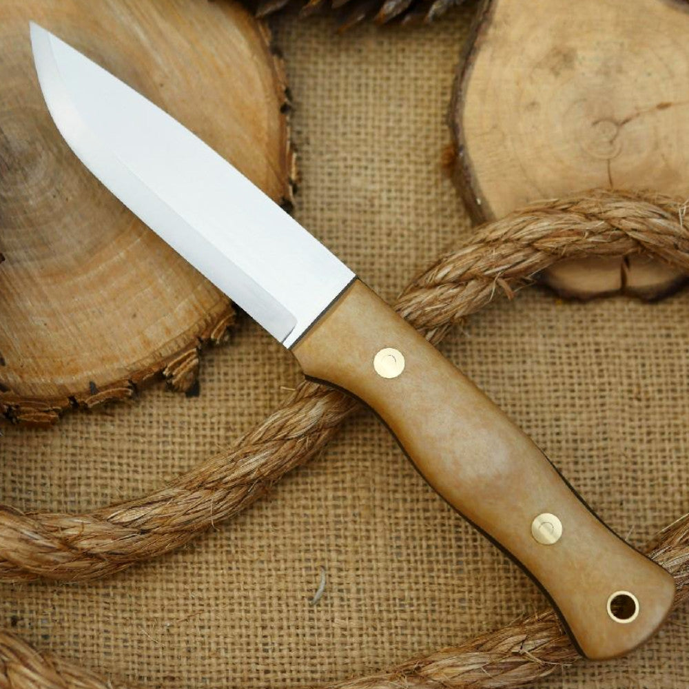 Explorer: CPM 3V, Maple Valley Richlite & Green Canvas - Adventure Sworn Bushcraft Co.