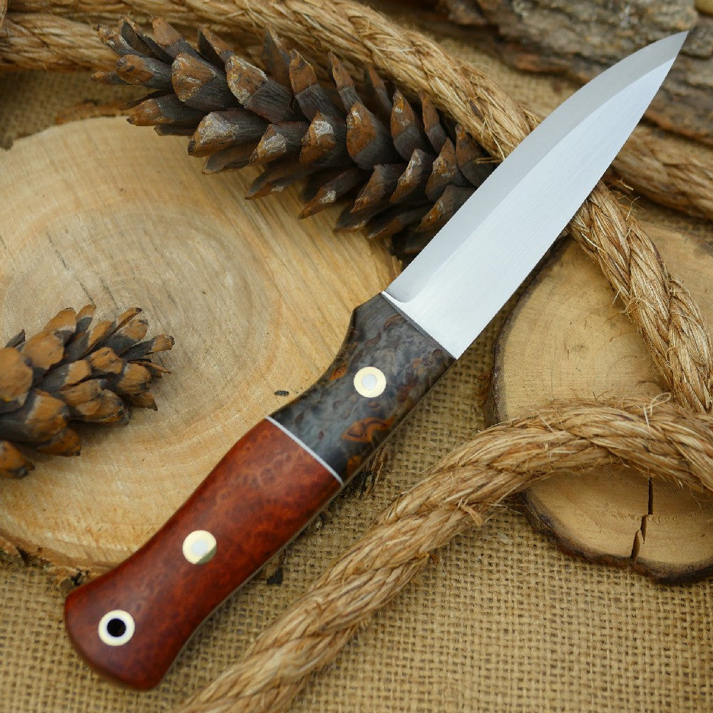 Mountaineer: Stabilized Briar & Black Karelian Birch