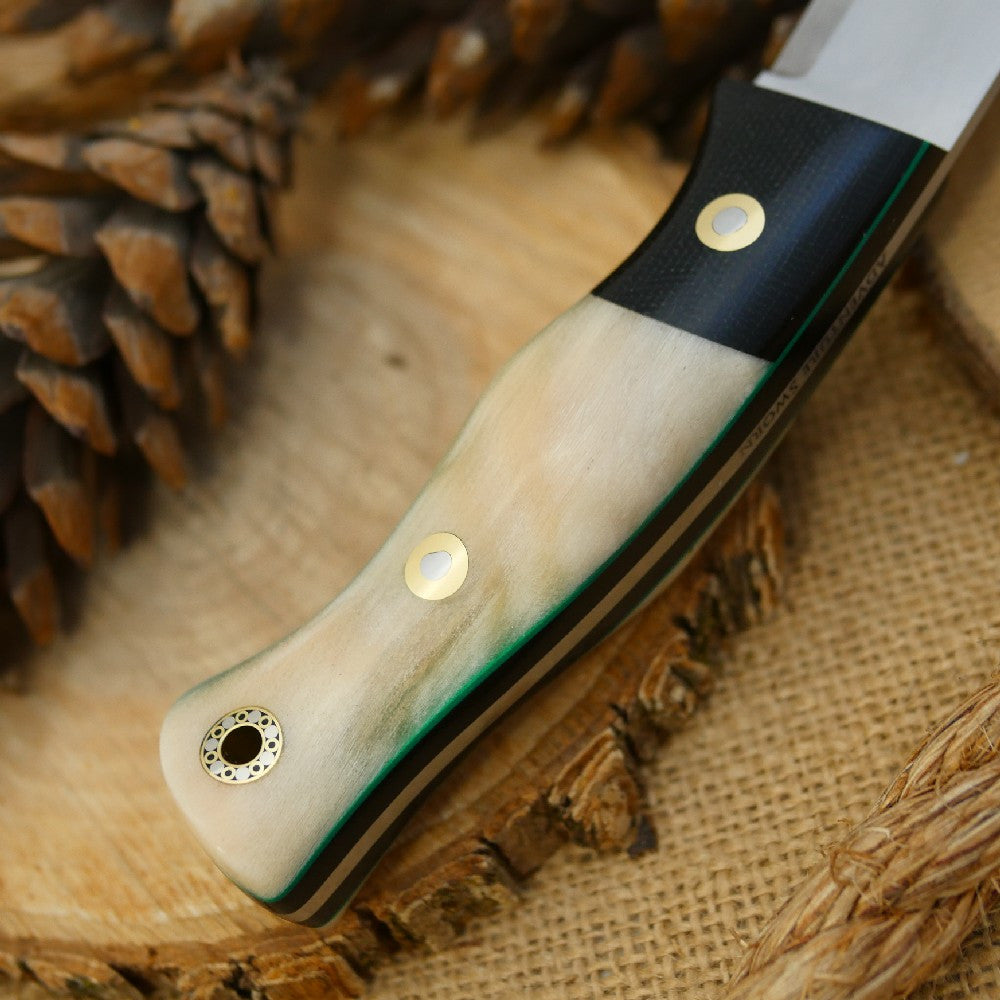 Guide: Rams Horn, Black Canvas & Double Liners - Adventure Sworn Bushcraft Co.