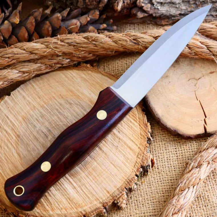 3V Mountaineer: Ironwood With Tapered Tang - Adventure Sworn Bushcraft Co.