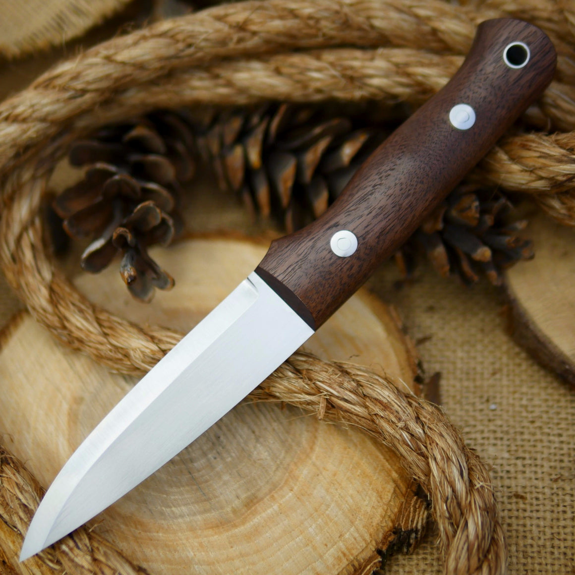 Classic: Walnut & Black - Adventure Sworn Bushcraft Co.