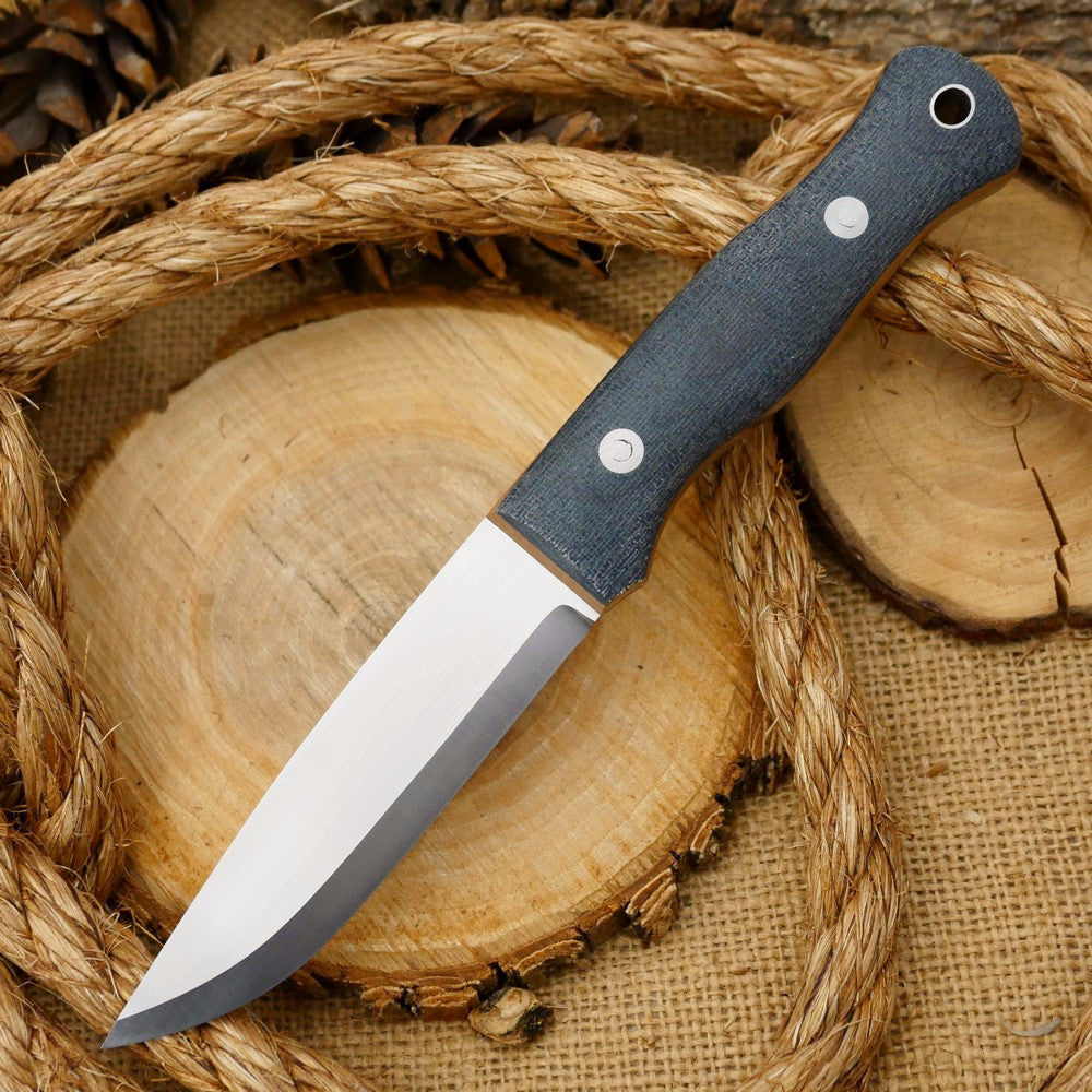 Explorer: 3V Grey Terotuf & Coyote Tan G10 - Adventure Sworn Bushcraft Co.