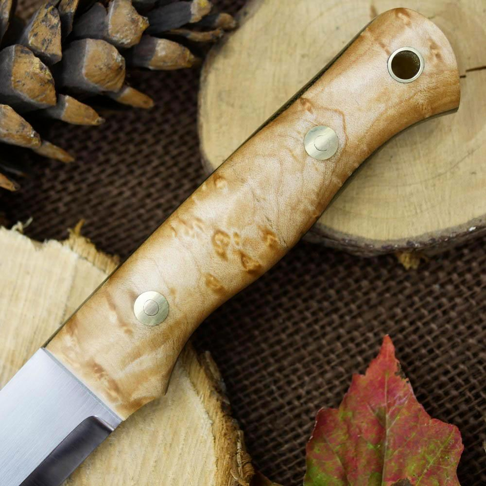 Available Now Classic: Birdseye Maple & Green Canvas - Adventure Sworn Bushcraft Co.
