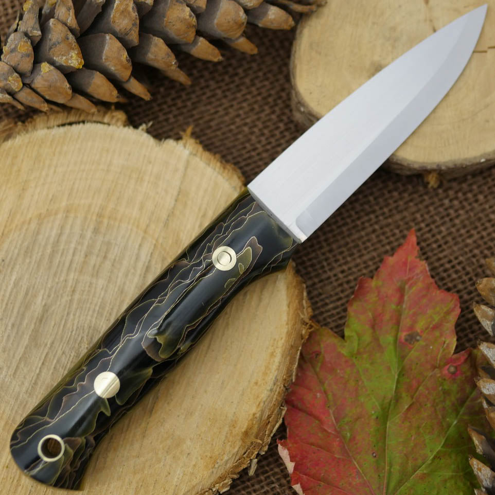 Classic: Raffir Nobel & Translucent Green G10 - Adventure Sworn Bushcraft Co.
