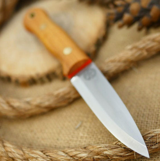 Mountaineer Bushcraft Knife, Osage Orange
