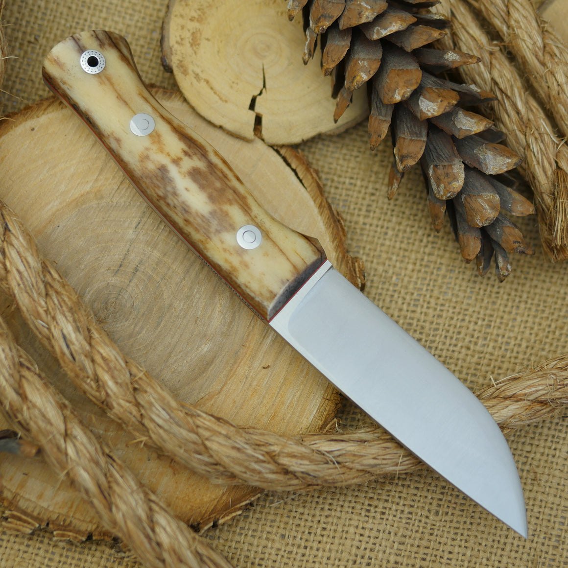 Huntsman: Giraffe Bone, Cinnamon Red & Mosaic - Adventure Sworn Bushcraft Co.