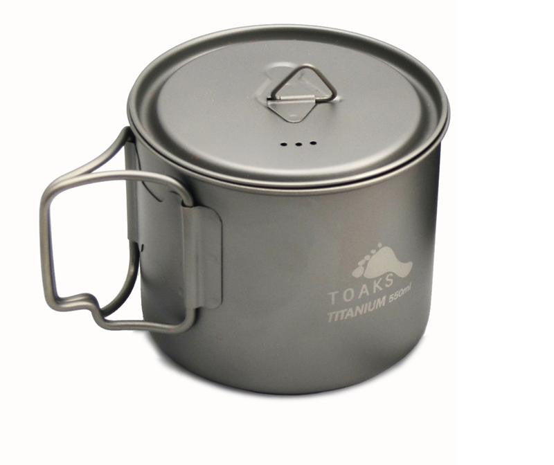 Toaks Titanium 550ml Light Pot / Cup