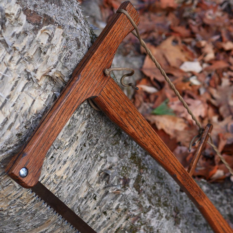 Custom Bucksaw: Dark Oak - Adventure Sworn Bushcraft Co.