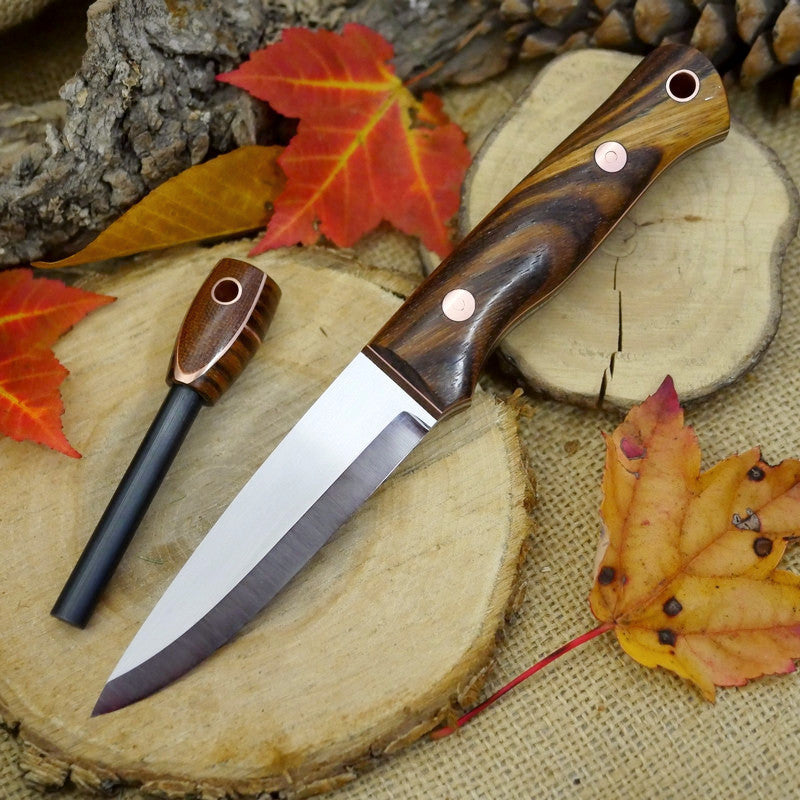 Classic: Zebrawood & Copper - Adventure Sworn Bushcraft Co.