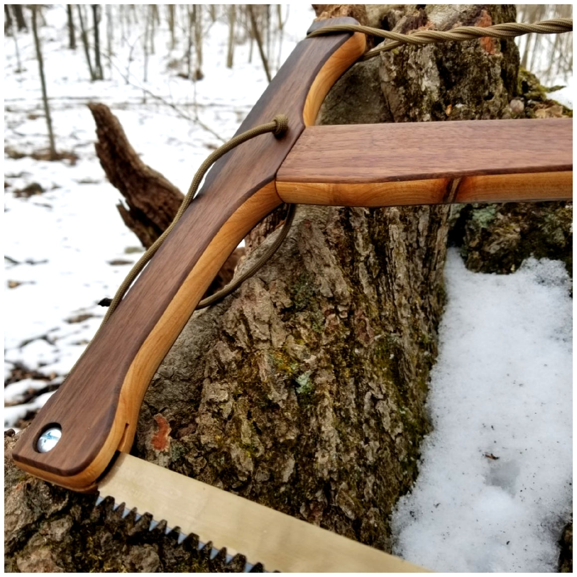 Walnut & Cherry Bucksaw