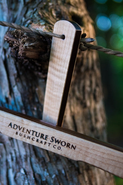 X2 - Custom Bucksaw 18 - Adventure Sworn Bushcraft Co. - 3