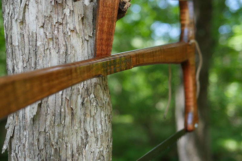 Custom Bucksaw 27 - Adventure Sworn Bushcraft Co. - 2