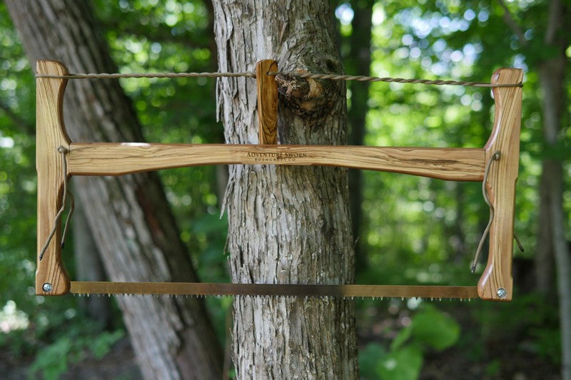 Custom Bucksaw 20 - Adventure Sworn Bushcraft Co.