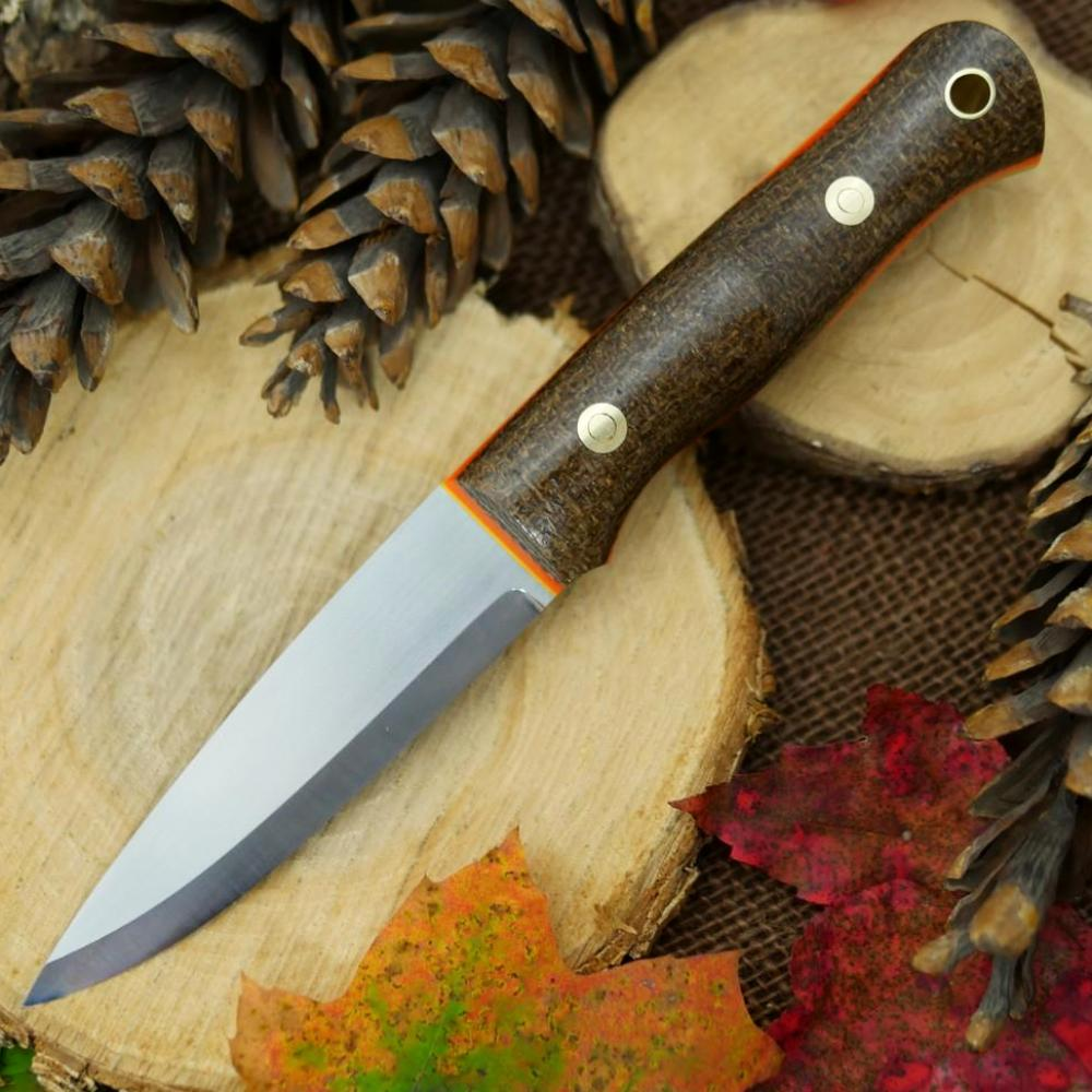Available Now Classic: Natural Burlap, Orange & Yellow - Adventure Sworn Bushcraft Co.