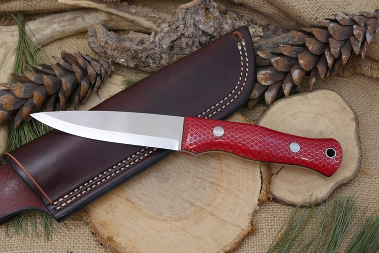 3V Mountaineer with Red C-Tek - Adventure Sworn Bushcraft Co.