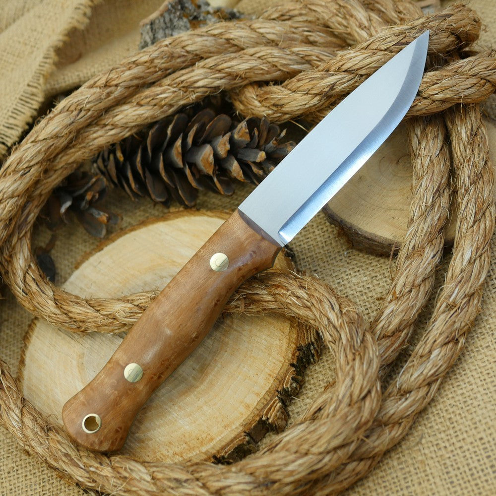 Explorer: Birdseye Maple & Kelly Green - Adventure Sworn Bushcraft Co.