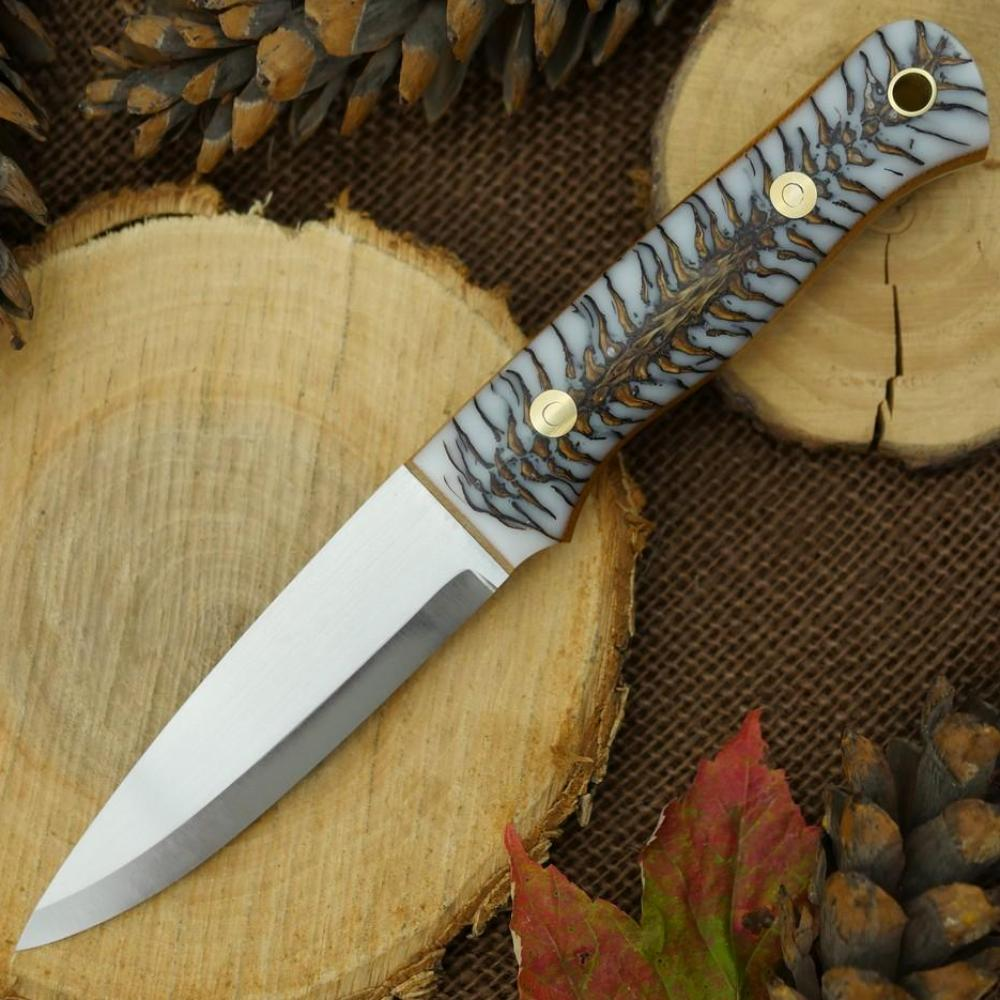 Classic: White Cast Pine Cone & Natural Canvas - Adventure Sworn Bushcraft Co.