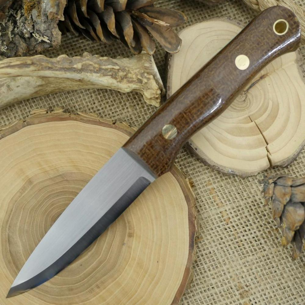 Classic: Dark Brown Burlap & Kelly - Adventure Sworn Bushcraft Co.
