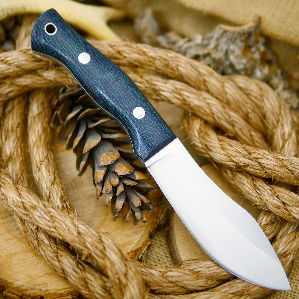 Guide: Navy Blue Burlap & Thin White - Adventure Sworn Bushcraft Co.
