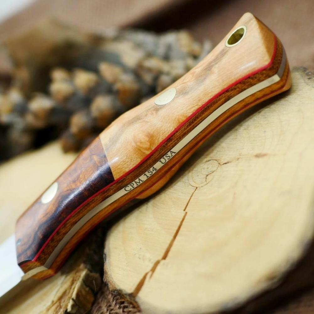 Voyageur: Ironwood Burl, Birdseye Maple & Double Liners