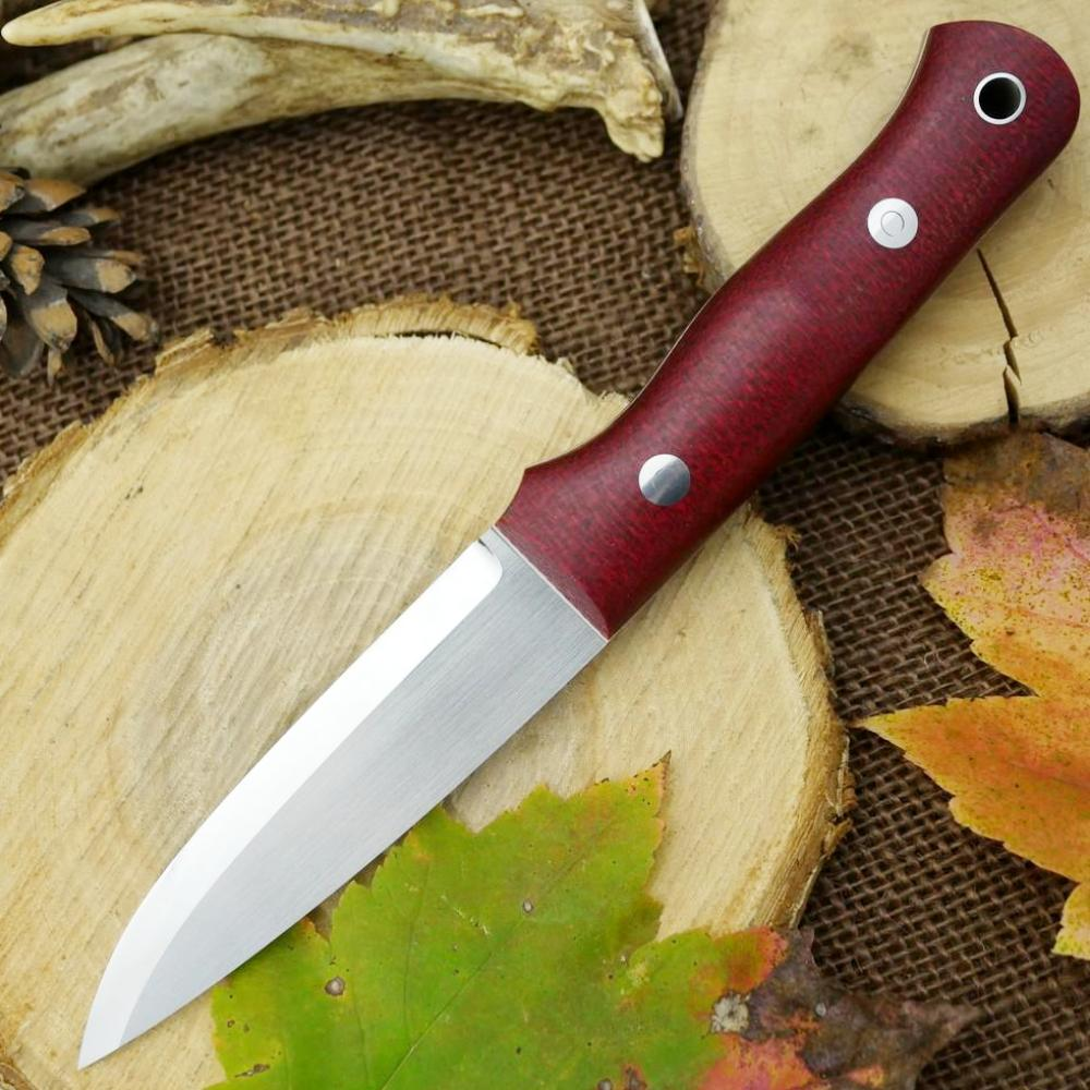 Classic: Ruby Red Burlap & Double Liners - Adventure Sworn Bushcraft Co.