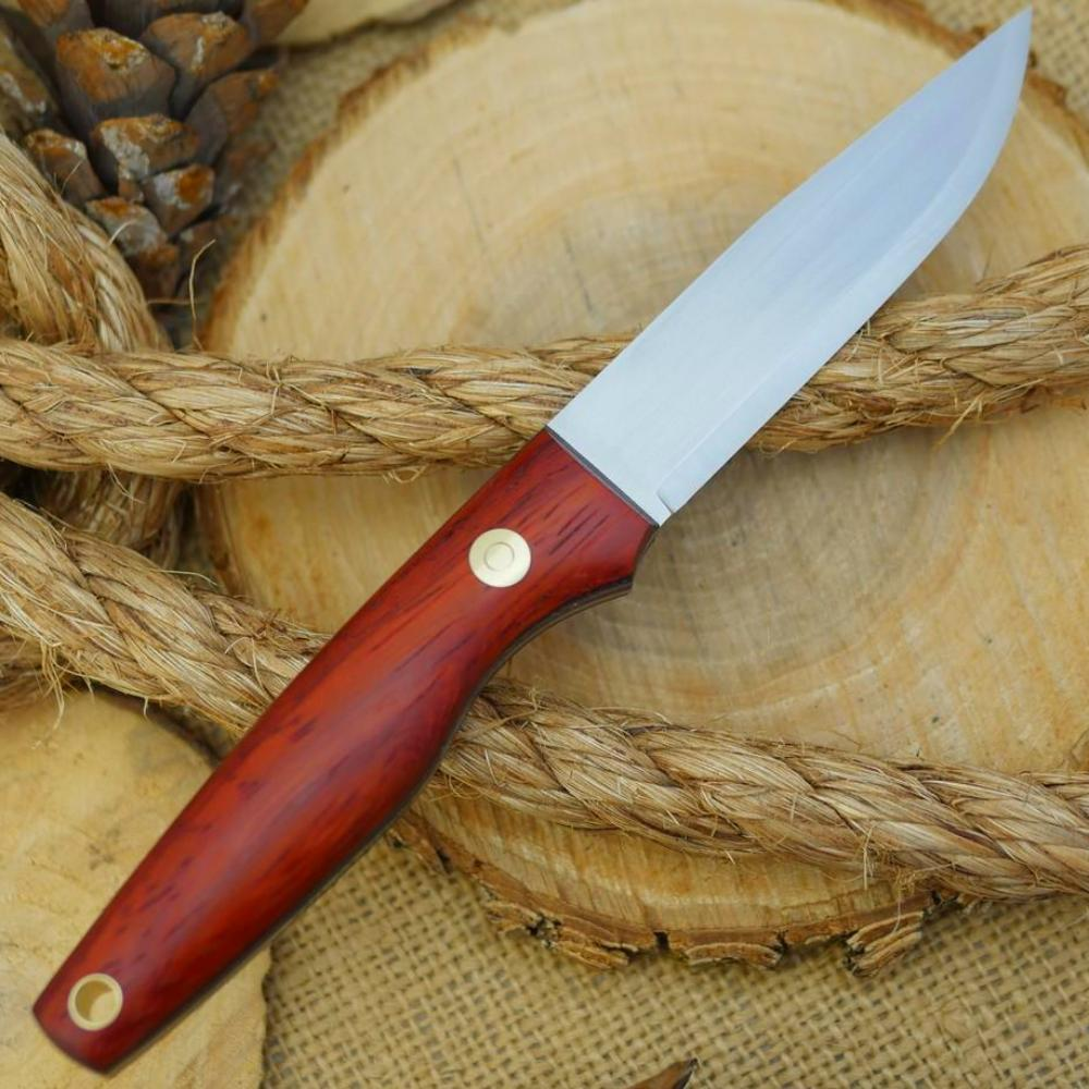 Hiker: Padauk & Leather - Adventure Sworn Bushcraft Co.
