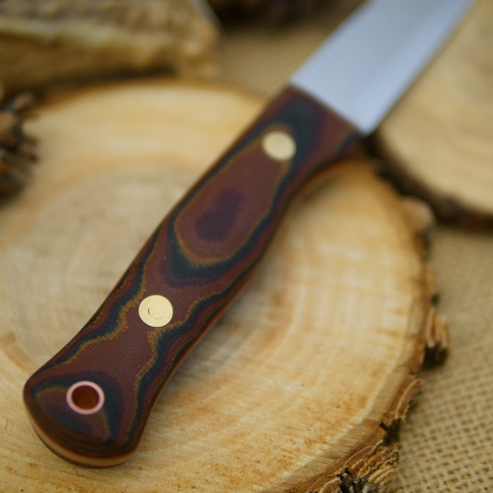 Mountaineer: Python Canvas Micarta