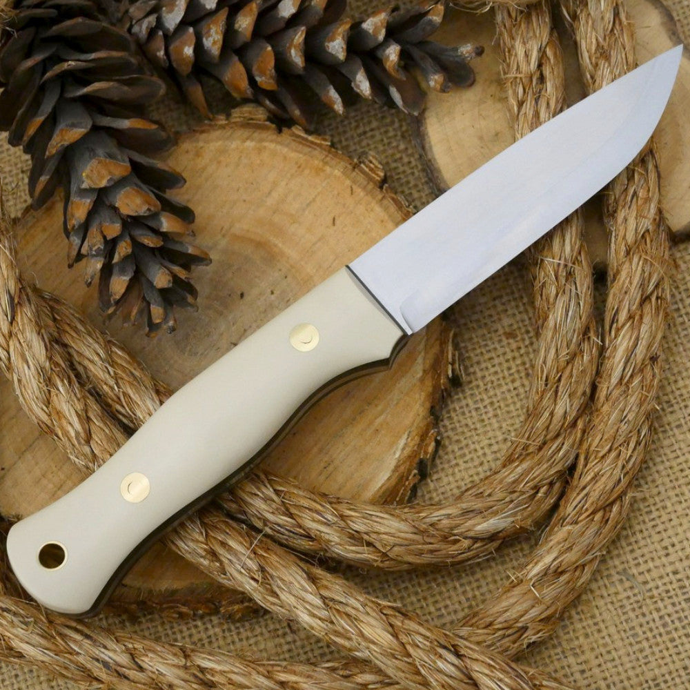 Explorer: Ivory Paper & Thick Green Canvas - Adventure Sworn Bushcraft Co.