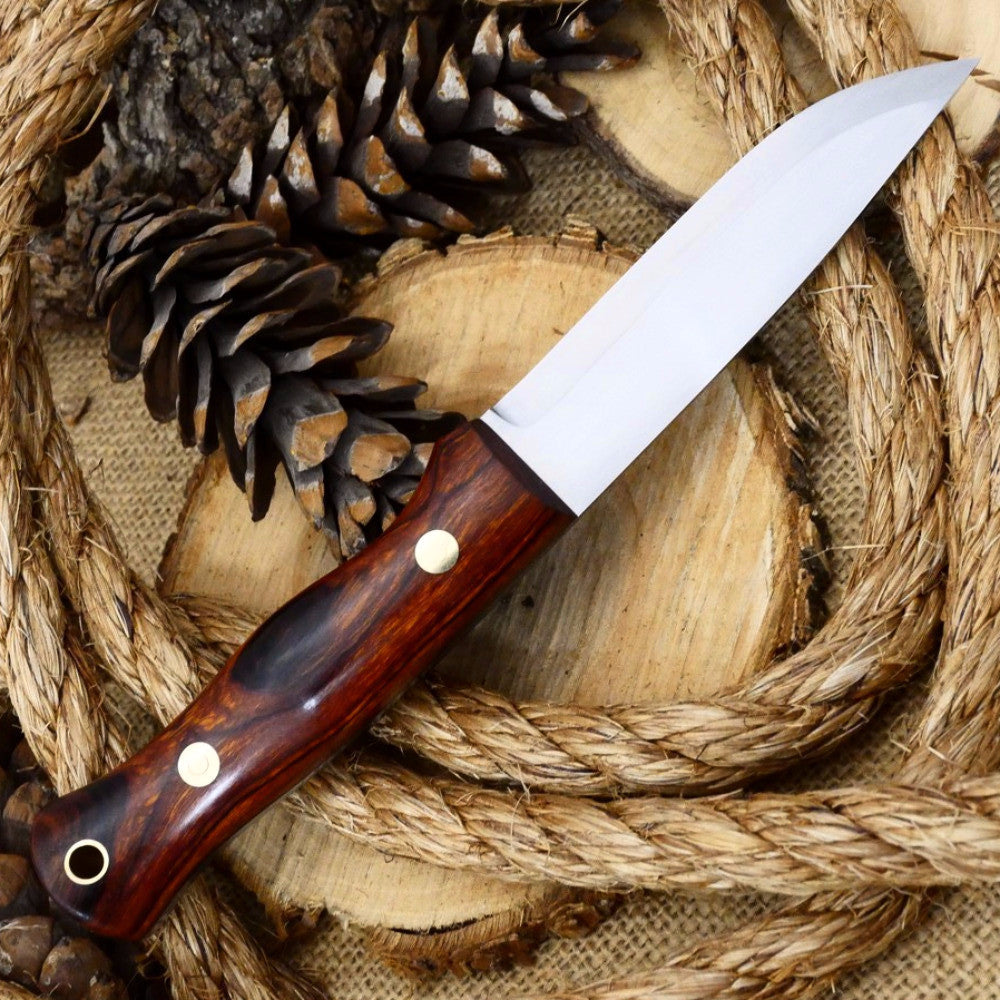 Explorer: 5/32 O1, Ironwood, and Black - Adventure Sworn Bushcraft Co.