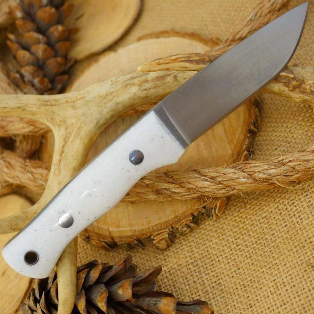 Huntsman: Granite Corian & Gray Acrylic - Adventure Sworn Bushcraft Co.
