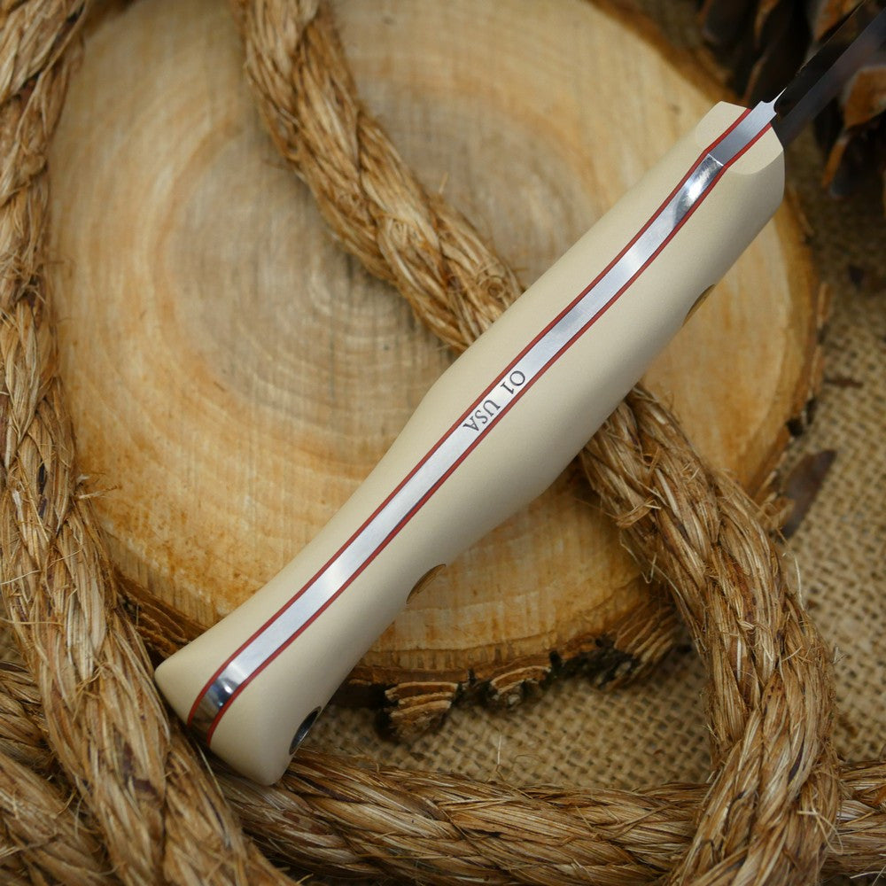 Explorer: Slim, Ivory Paper & Cinnamon Red - Adventure Sworn Bushcraft Co.