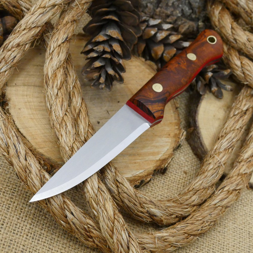 Voyageur: Ironwood Burl & Red Linen
