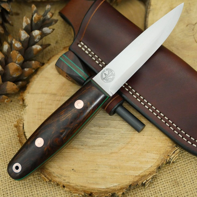Woodsman: Ironwood, Green & Copper - Adventure Sworn Bushcraft Co.