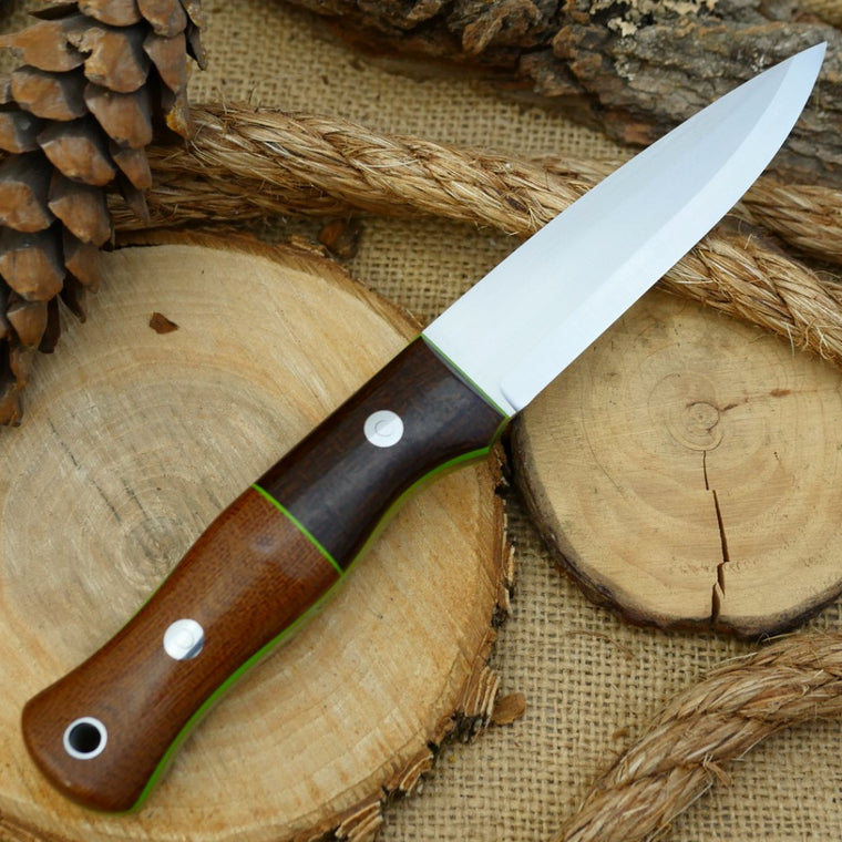 Mountaineer: Barbed Wire Bolster, Natural Canvas & Toxic Green