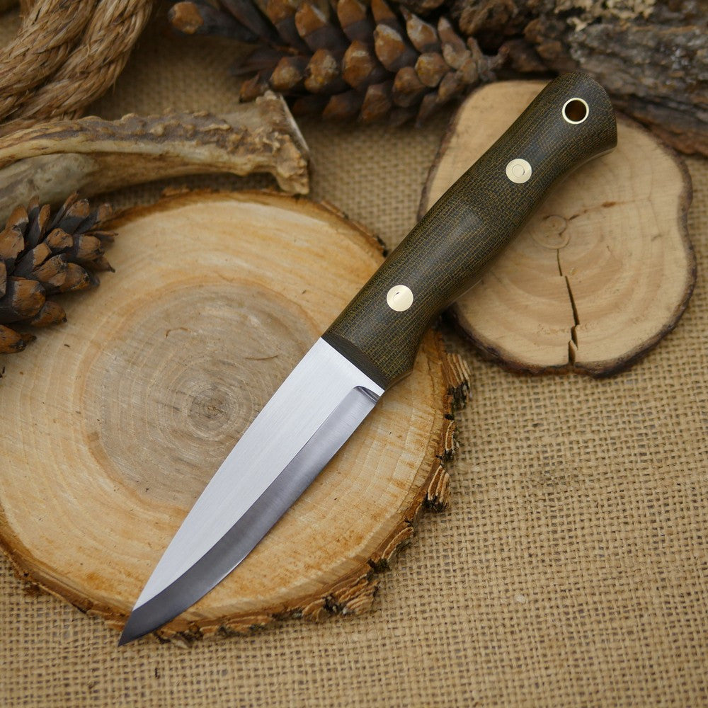Classic: Green Canvas Micarta, 1/8 thick