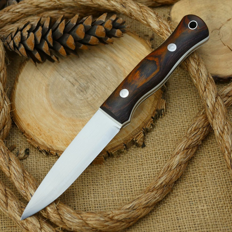 Mountaineer: Cocobolo & White G10