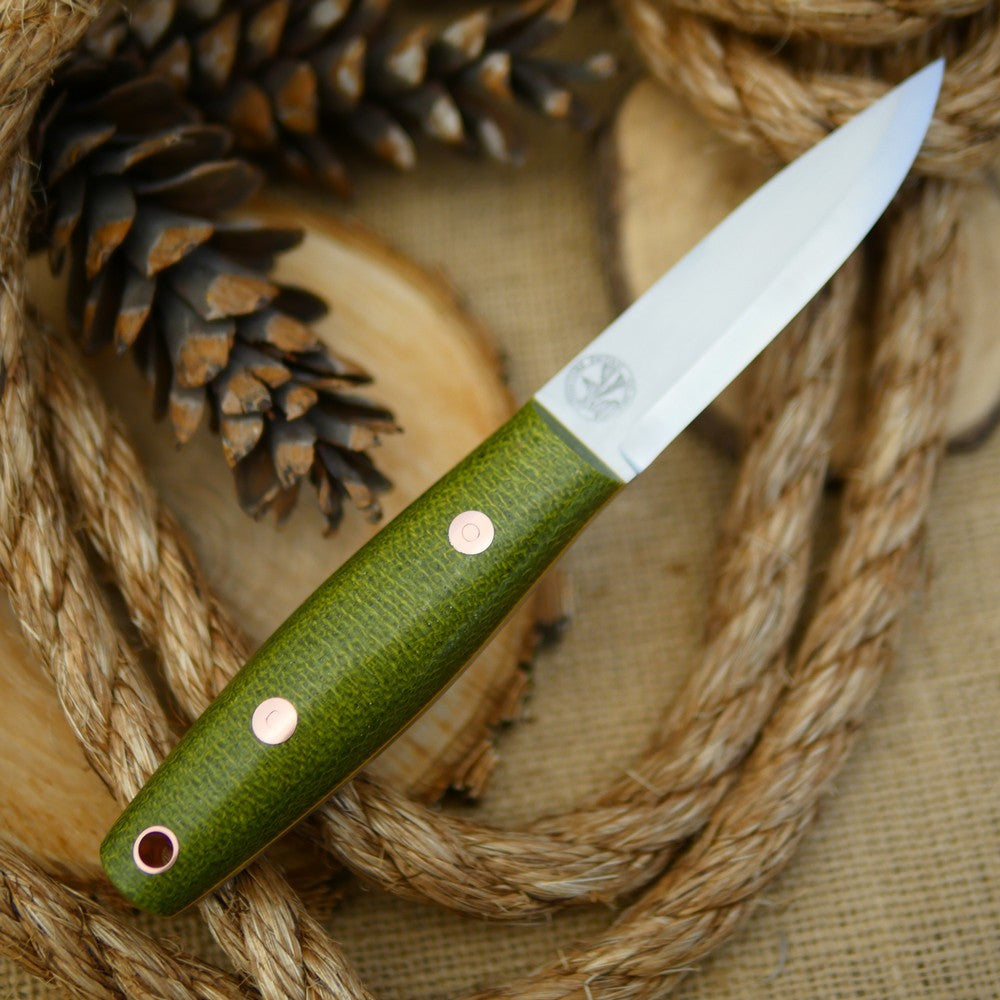 Woodsman: Emerald Green Burlap & Yellow