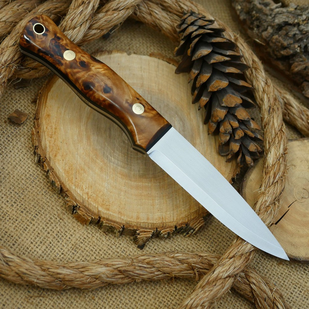 Mountaineer: Poplar Burl & Black Canvas