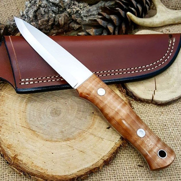 Classic 015: Stabilized Curly Maple - Adventure Sworn Bushcraft Co.