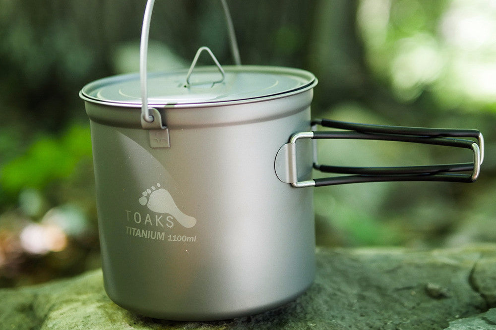 Toaks Titanium 1100ml Pot with Bail