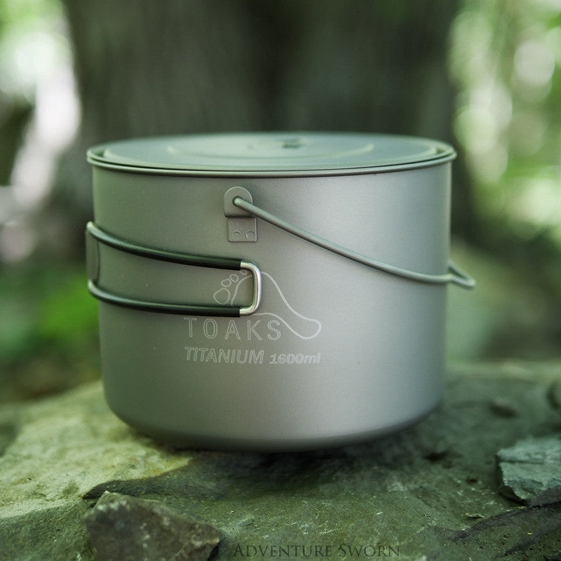 Toaks Titanium 1600ml Pot with Bail