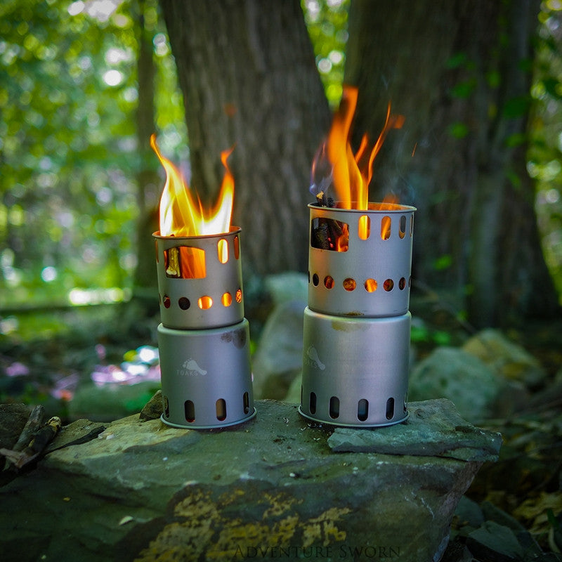 Toaks Titanium Wood Burning Stove (Small)