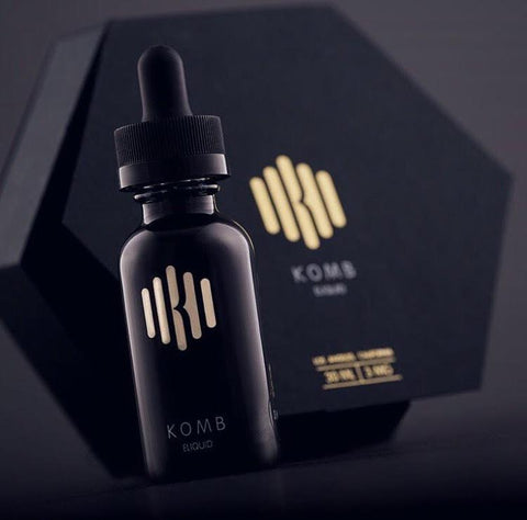 Brought to you by the creators of Smax & The Milkman, we'd like to welcome KOMB to the spotlight this week as it is one very delicious e-liquid. If the makers that came together don't already give you a little hint about the tastiness, here's what this bomb liquid is all about :