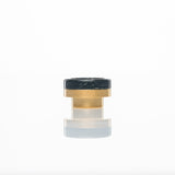 District F5VE One Tip Gold Base Black Swirl