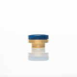District F5VE One Tip Gold Base Blue Swirl