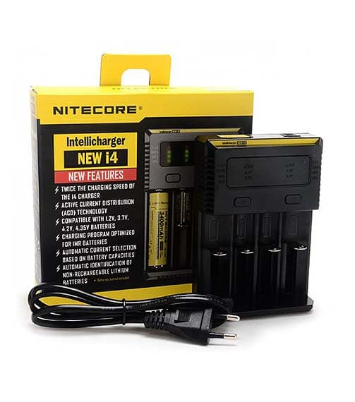 Nitecore - I4 (4 Bay Charger)