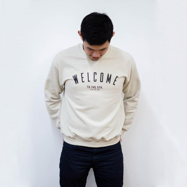 District F5VE - Welcome To The 5th. Crewneck Sweater